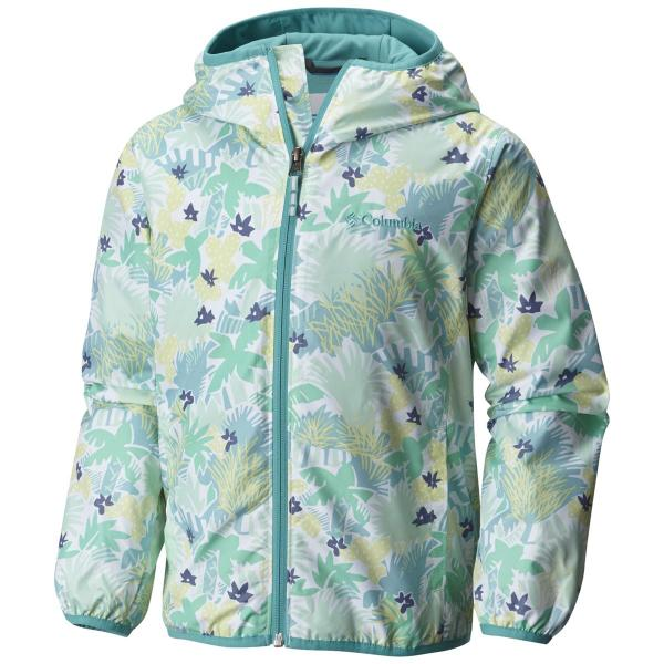 Columbia Infant Girls' Mini Pixel Grabber II Wind Jacket