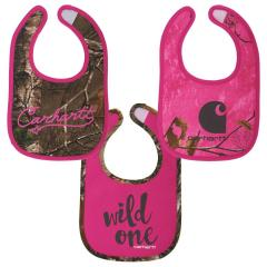 Infant Girls' Bib 3 Piece Gift Set