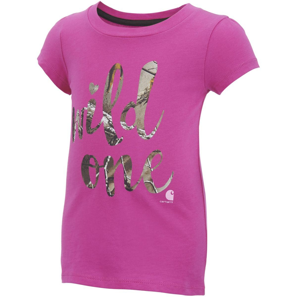 Carhartt Infant and Toddler Girls' Wild One Tee