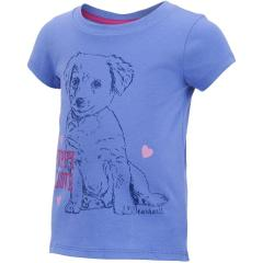Infant and Toddler Girls' Puppy Love Tee