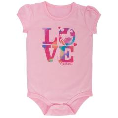Infant Girls' I Love Horses Bodyshirt