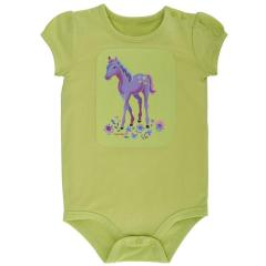 Infant Girls' I Heart Horses Bodyshirt