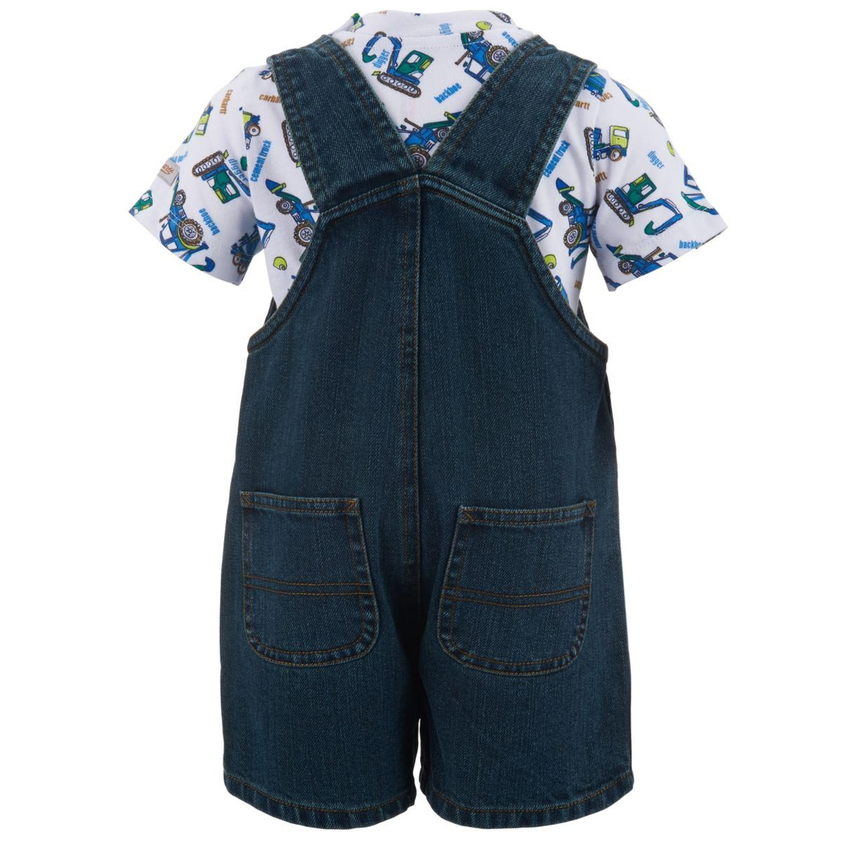 Carhartt Infant Boys' Denim Shortall Set