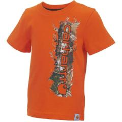 Infant and Toddler Boys' Vertical Camo Tee