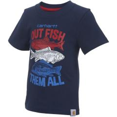 Infant, Toddler and Boys' Out Fish Them All Tee