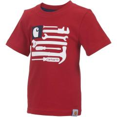 Infant, Toddler and Boys' Flag Tools Tee