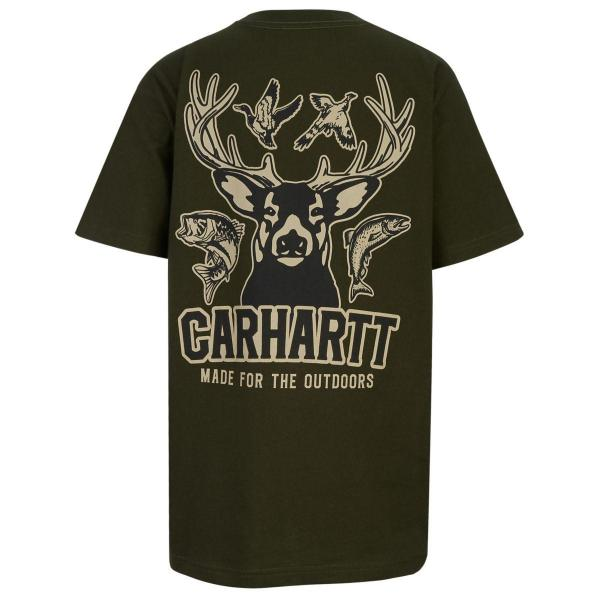 Carhartt Boys' Made For The Outdoors Tee