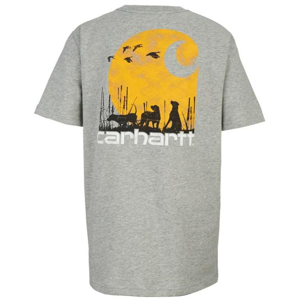 Carhartt Boys' C Dog Pocket Tee