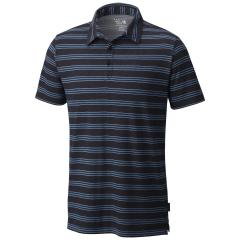 Men's Short Sleeve Polo ADL Stripe