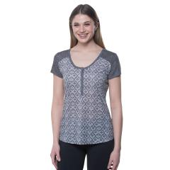 Women's Kortina Short Sleeve Henley