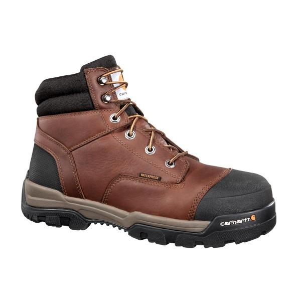 Carhartt Men's 6 Inch Waterproof Work Boot - Composite Toe