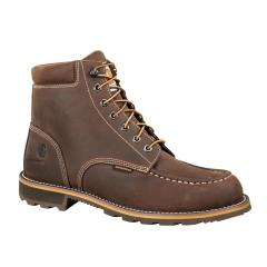 Men's 6 Inch Waterproof Brown Work Boot - Steel Toe