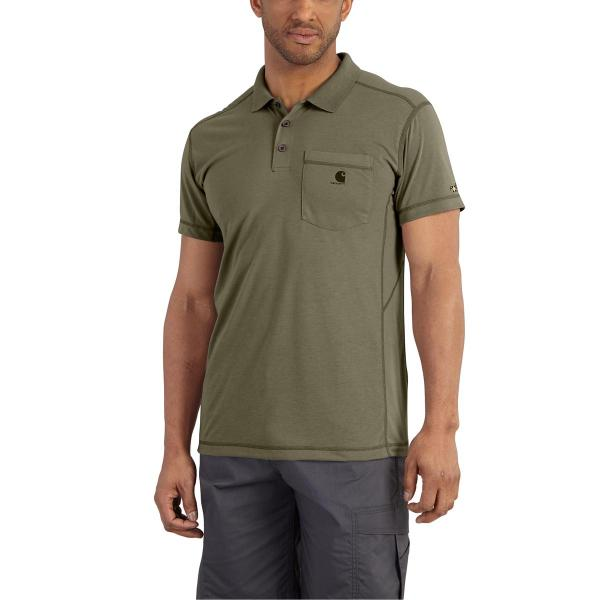 Carhartt Men's Force Extremes Pocket Polo - Discontinued Pricing
