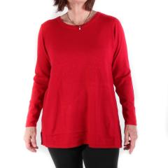 Women's Scoop Sweater Knit Top