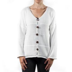 Lulu-B Women's Fancy Stitch Sweater