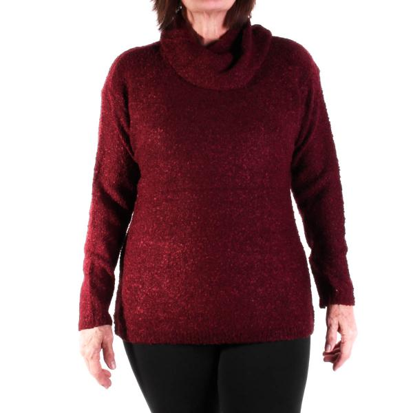 Lulu-B Women's Cowl Sweater