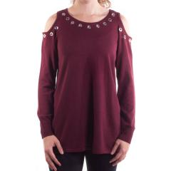 Women's Cold Shoulder Tunic