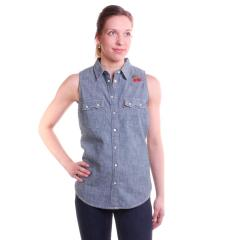 Levi Women's Modern Sawtooth Sleeveless Shirt