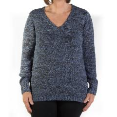 Tribal Women's Vee Neck Sweater