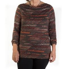 Tribal Women's Drape Front Top