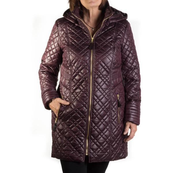 Tribal Womens Quilted Coat Free Shipping