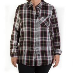 Tribal Women's Plaid Shirt