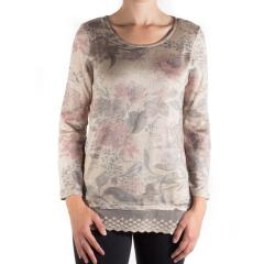 Tribal Women's Lace Edge Top