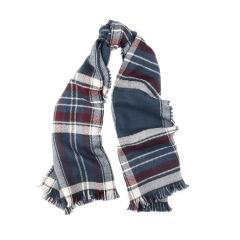 Women's Reversible Plaid Wrap Scarf