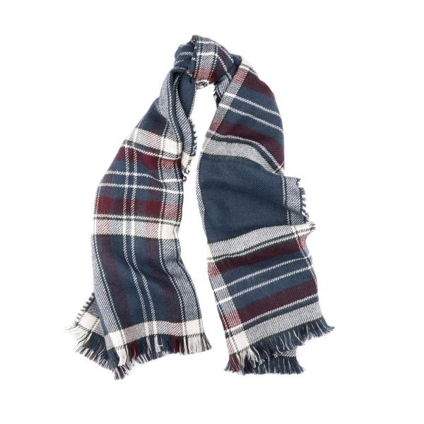 Barbour Women's Reversible Plaid Wrap Scarf