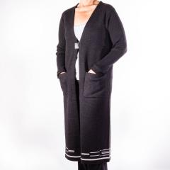 Women's Ribbed Sleeve Pinyon Duster