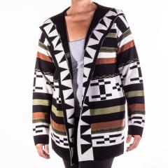 Women's Desert Stripe Cardigan