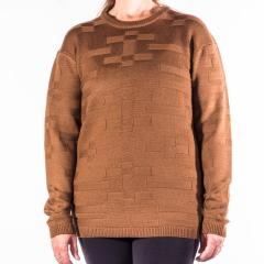 Women's Tonal Textured Crew