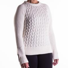 Pendleton Women's Contrast Cable Sweater