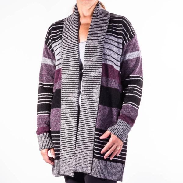 Pendleton Women's Cozy Stripe Cardigan