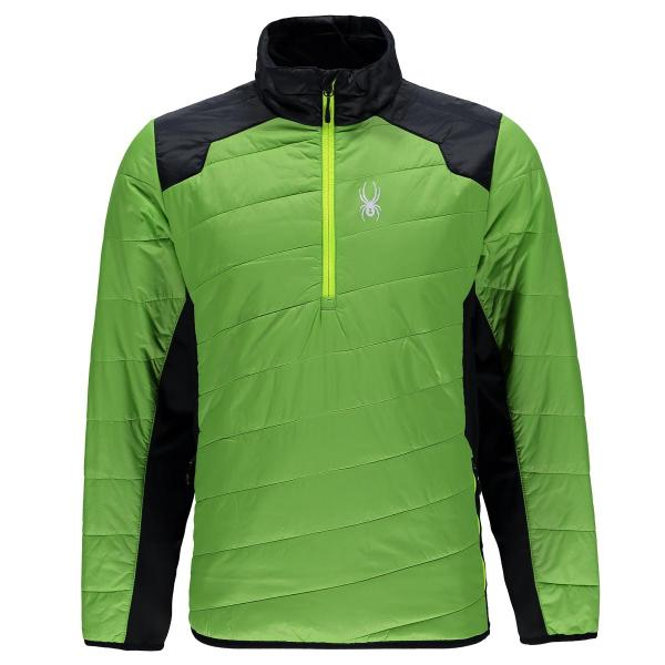 Spyder Men's Glissade Half Zip Insulator Jacket