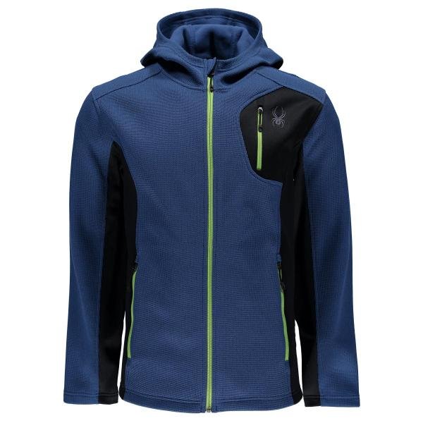 Spyder Men's Bandit Full Zip Hoody Lightweight Jacket