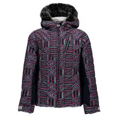 Spyder Girls' Hottie Faux Fur Jacket