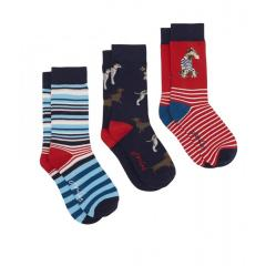 Joules Women's 3 Pack Brilliant Bamboo Socks