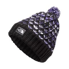 The North Face Girls' Chunky Pom Beanie - Past Season
