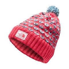 The North Face Girls' Chunky Pom Beanie