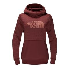 Women's Half Dome Quilted Pullover Hoodie