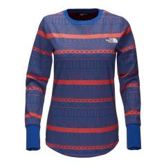 The North Face Women's Long Sleeve Holiday Nordic Waffle Tee