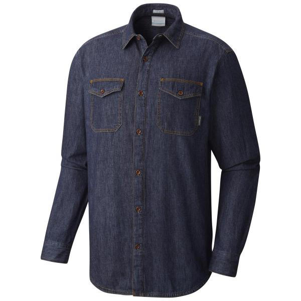 Columbia Men's Pilot Peak Flannel Lined Denim Shirt