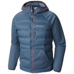 Men's Rejuvenation Down Hybrid Hooded Jacket