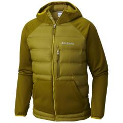 Columbia Men's Rejuvenation Down Hybrid Hooded Jacket