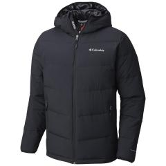 Columbia Men's Lone Fir 650 TurboDown Hooded Jacket - Tall Sizes
