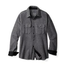 Men's Anchor Line Herringbone Shirt Jacket
