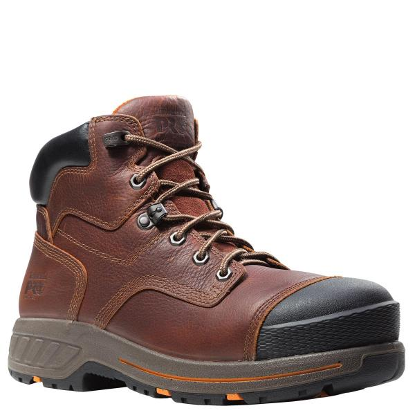 Timberland Men's 6 Inch Pro Helix HD Composite Safety Toe Waterproof