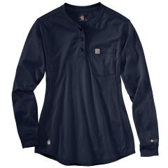 Carhartt Women's FR Force Cotton Long Sleeve Henley