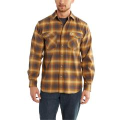 Carhartt Men's Rugged Flex Hamilton Snap Front Plaid Shirt